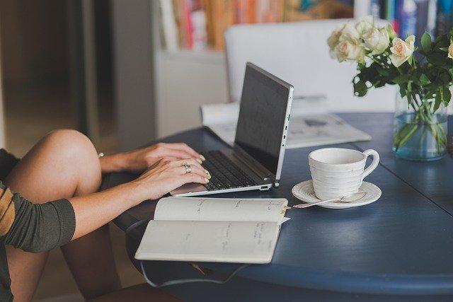 Blogin lukemista tietokoneella